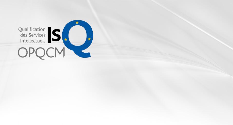 D2R est certifiée et qualifiée ISQ-OPQCM